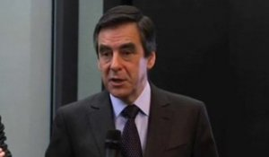 Fillon visite Microsoft et des start up 1/2