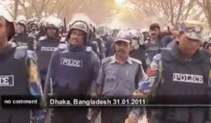 Affrontements au Bangladesh - no comment