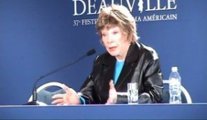 SHIRLEY MAC LAINE FESTIVAL AMERICAIN DEAUVILLE