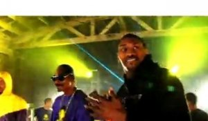 "On The Set: Snoop Dogg, The Game, DJ Skee ""Purp & Yellow- LA Leakers SKEETOX Remix"" ft. LA Lakers"