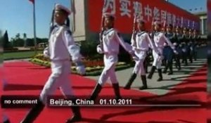 La Chine célèbre sa fête nationale - no comment