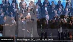 Obama inaugure le Mémorial Martin Luther... - no comment