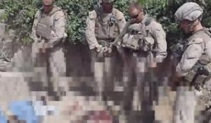 4 marines urinent ses des talibans morts [CENSURE]