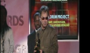 MICKEY HART OF THE GRATEFUL DEAD WINS ANOTHER WORLD MUSIC GRAMMY