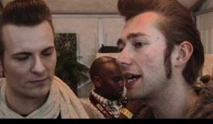Interview The Baseballs - Sam, Digger and Basti