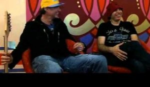 Chickenfoot interview - Chad Smith and Joe Satriani (part 3)