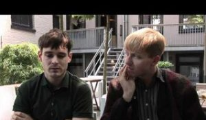 The Drums interview - Jacob Graham and Jonathan Pierce (part 2)