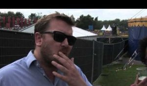 Elbow interview - Guy Garvey and Pete Turner about Lippy Kid and the UK-riots
