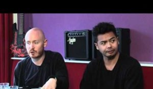 The Temper Trap interview - Dougy Mandagi and Joseph Greer (part 2)