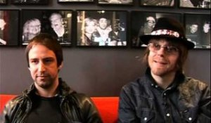 The Rifles 2009 interview - Joel Stoker en Luke Crowther (part 2)