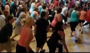 La vague zumba à Avranches