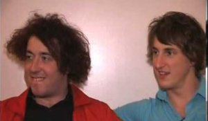 The Wombats 2007 interview - Matthew and Dan (part 1)