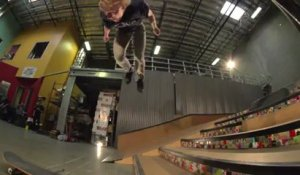 Backflip en skateboard par Adam Miller