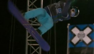 SnowBoard - Winter X Games Tignes 2012 - Kelly Clark SuperPipe Gold