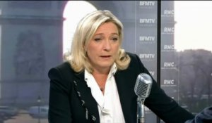 Intervention de Hollande: réaction de Marine Le Pen