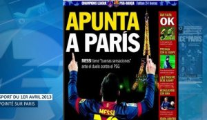 Le pressentiment de Messi avant Paris, la menace n° 1 pour le Real