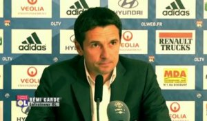 OL : Rémi Garde affiche sa satisfaction