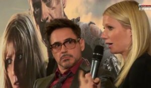 Rencontre avec Robert Downey Jr et Gwyneth Paltrow