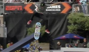 Nyjah Huston Final Run in SLS Final - X-Games Barcelona