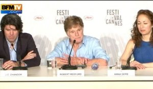 All Is Lost : The press conference with Robert Redford at le Festival de Cannes - 22/05