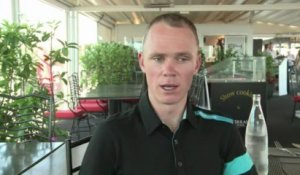"Tour de France: Chris Froome ""nerveux"" mais ""prêt"""