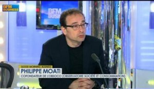 Philippe Moati, cofondateur de l'Obsoco dans Good Morning Business - 20 juin