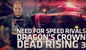Need for Speed Rivals, Dragon's crown, Dead Rising 3, film WoW