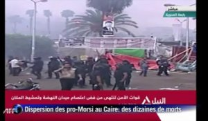 Dispersion sanglante des pro-Morsi au Caire
