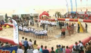 Beach-Volley - Championnats de France 2013. Podium Dames.