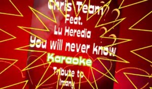 Chris Team Feat. Lu Heredia - You Will Never Know - Karaoke Tribute to Imany