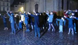 Flash mob Place Dalton à Boulogne sur Mer