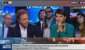 BFM Politique: Najat Vallaud-Belkacem face à Luc Chatel - 03/11