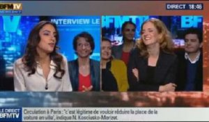 BFM Politique: L'interview de Nathalie Kosciusko-Morizet par Anna Cabana du Point - 10/11