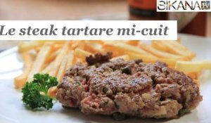 Le steak tartare de boeuf mi-cuit - HD