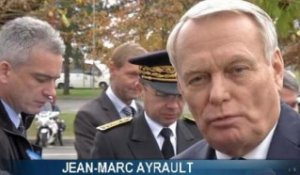 "Jean-Marc Ayrault ""touché par le courage"" de Dominique Bertinotti - 22/11"