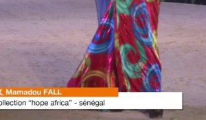 Mamadou Fall (Sénégal) et sa collection Hope Africa au Fima 2013
