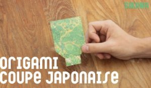 Origami traditionnel facile : La coupe japonaise.