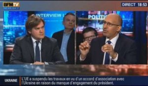 BFM Politique: L'interview d'Harlem Désir par Étienne Gernelle du Point - 15/12 3/6