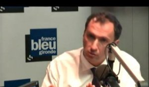 Municipales -  Bordeaux 2014 : Vincent Feltesse invité de France Bleu Gironde