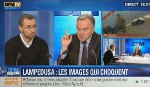 BFM Story: Lampedusa: les images choquantes - 18/12