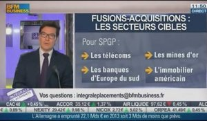 Fusions-acquisitions: comment investir en bourse ?: Cédric Chaboud, dans Intégrale Placements - 15/01