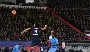 But Edinson CAVANI (79ème) - Paris Saint-Germain - Olympique de Marseille - (2-0) - 02/03/14 - (PSG-OM)