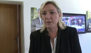 "Marine Le Pen: ""L'abstention c'est l'aide aux sortants"""