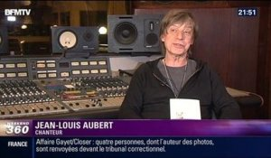 Showbiz: Jean-Louis Aubert chante Michel Houellebecq - 12/04