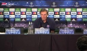 "Football / Ligue des Champions - Blanc : ""Verratti devra faire attention"" 07/04"