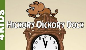 Hickory Dickory Dock | Nursery Rhymes | Vocals