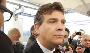 "Montebourg sur l'affaire Morelle: ""no statement, thank you"" - 18/04"