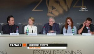 MAPS TO THE STARS : Conférence de Presse