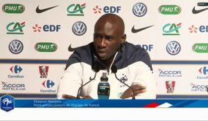 Eliaquim Mangala : point presse des Bleus (REPLAY)