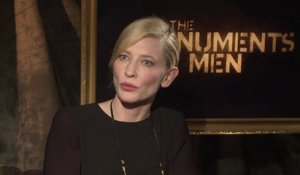 Monuments Men - Interview Cate Blanchett (2) VO